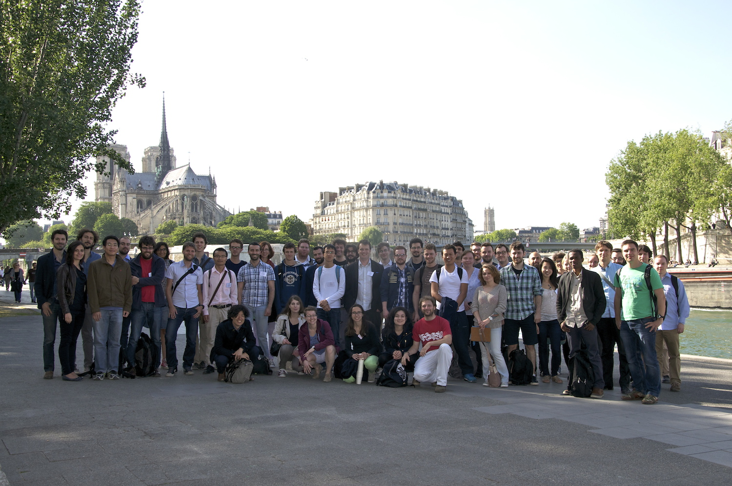 YRM2015 Paris Group Photo